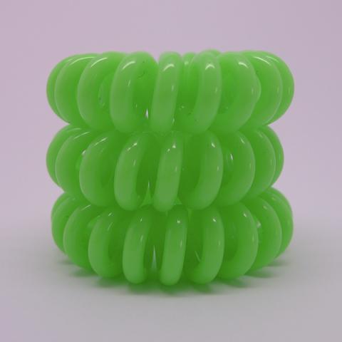 Hair Cords - Neon Green
