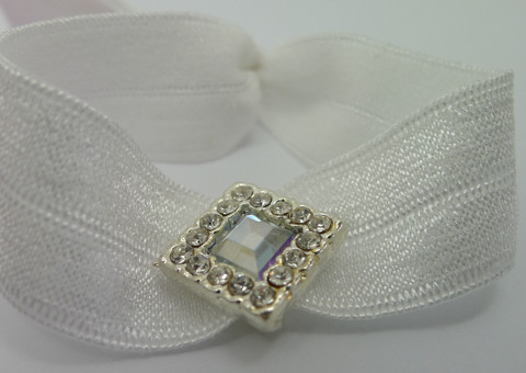 Hair Ties - Square Bead